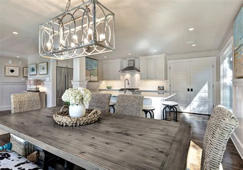 House Of Turquoise Harper Construction Another View Love Farmhouse Dining Room Lighting