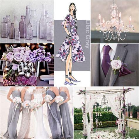 wedding colour schemes lilac pantone top colors for 2016 lilac grey color theme ideas