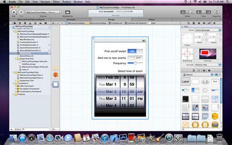 xcode programming tutorial iphone xcode iphone app gui design obama pacman