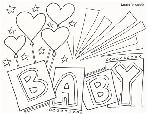 baby shower coloring pages baby shower coloring pages for gallery coloring for
