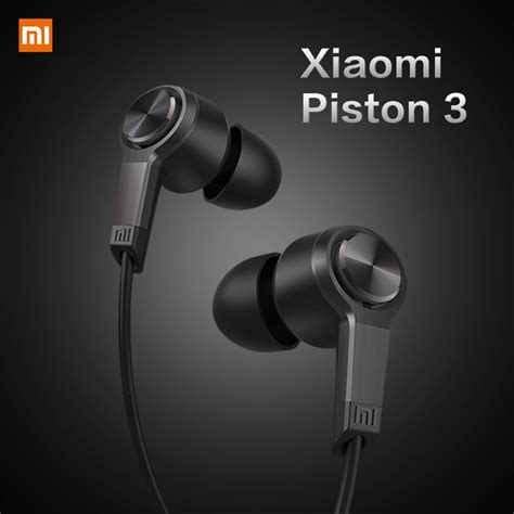 Original Oem Earphone Xiaomi Piston 3 original xiaomi piston 3 reddot design earphones for smartphones