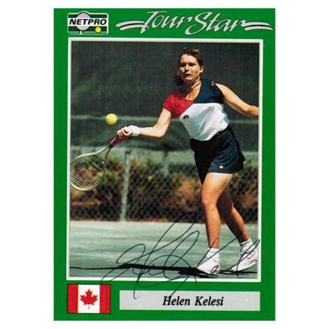Tennis Express Gift Card - helen kelesi signed women s card