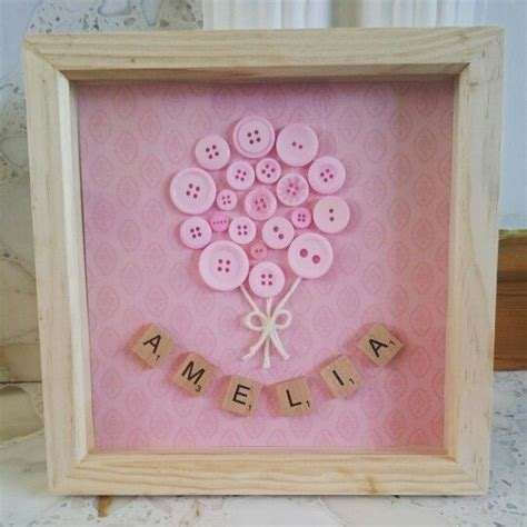 scrabble gift ideas personalised new baby gift balloon buttons and scrabble