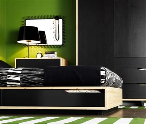 black and white and green bedroom info home and furniture decoration design idea