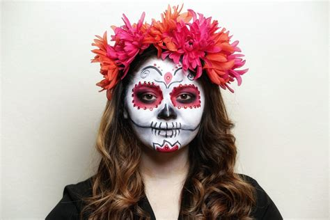 Day Of The how to apply la catrina makeup a day of the dead tutorial