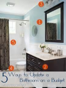 To upgrade a bathroom on a budget don t neglect a needed bathroom