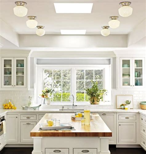 classic white kitchen cabinets classic white kitchen butcher block island build dream