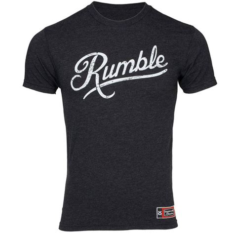 T Shirt Rumble anthony rumble johnson ufc on fox 12 walkout shirt