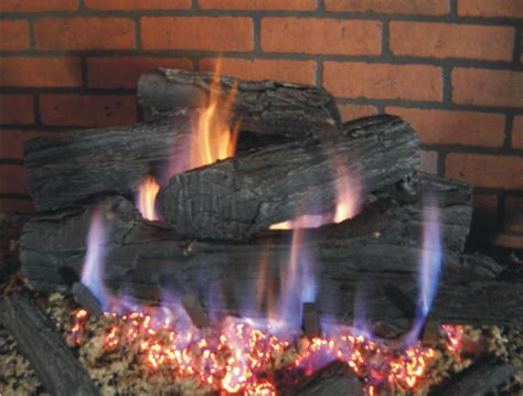 ceramic gas fireplace logs fireplace door