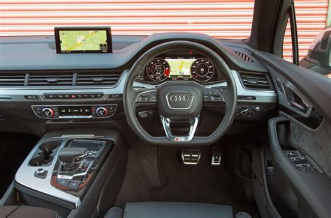 Show Home Interior Design by Audi Sq7 Review 2018 Autocar