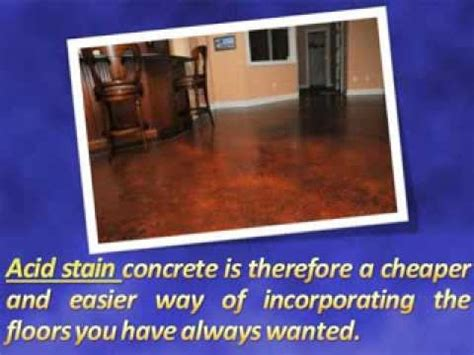 How To Get Stains Out Of Concrete Floors by How Much Does Acid Stain Concrete Cost