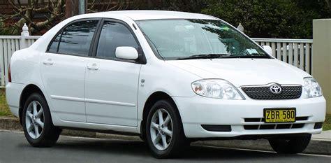 Toyota Carolla Toyota Corolla E120