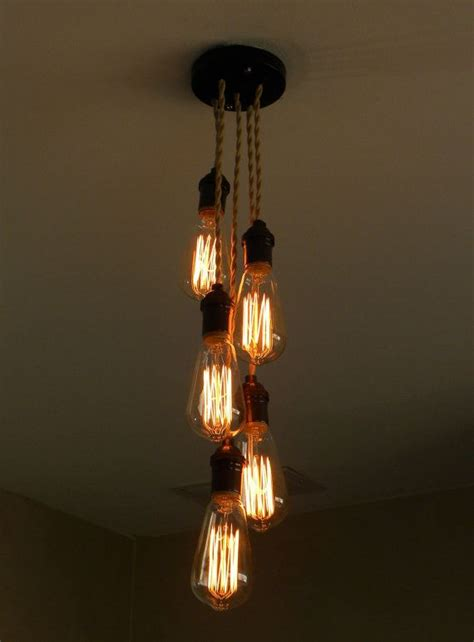 Cluster Pendant Light 5 Cluster Any Colors Multi Pendant Light Fixture Ceiling Industrial Chandelier Lighting