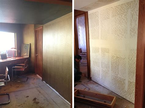 before and after metallic painted walls cocoon home