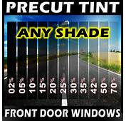 PreCut Film Front Door Windows Any Tint Shade VLT For