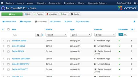 rule engine pattern c joomla extensions social media management solutions for