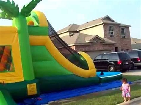 bounce house rental fort worth tropical combo bounce house rentals fort worth and arlington youtube