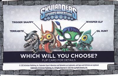 Frito Lay Background Check One Per Skylander Sidekicks A Frito Lay Promotion