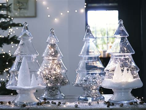 decorate with glass christmas tree jar christmas decor