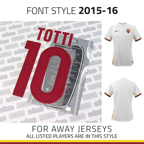 As Roma Away 201516 2015 16 as roma away kits admc llc