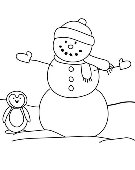 coloring pages snowman coloring pages christmas snowman coloring pages free and