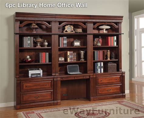 house wellington 6pc library home office wall