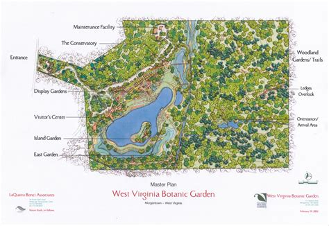 West Virginia Botanical Gardens Master Plan