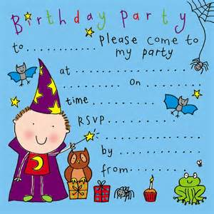 party invitations birthday party invitations kids party