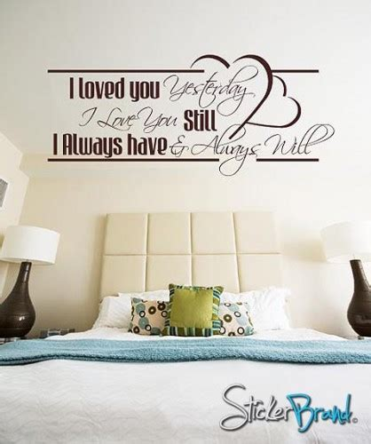 vinyl wall stickers quotes vinyl wall decal sticker quotes bhuey118s stickerbrand housewares on artfire