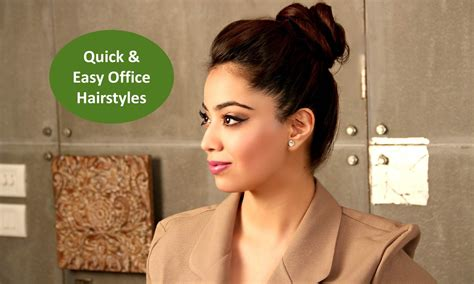 simple and easy hairstyles for office simple yet gorgeous office hairstyles for career
