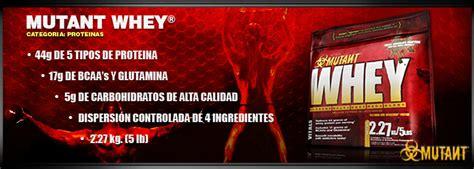 Quality Mutant Whey 5lbs nutrition technologies mutant whey mutant