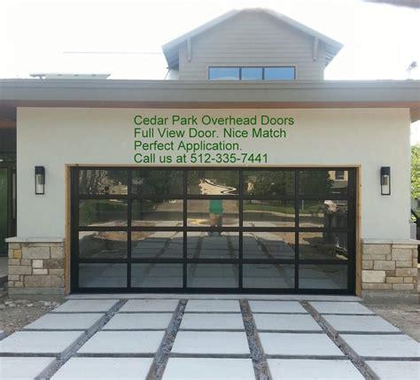 glass panel overhead doors view aluminum garage doors by cedar park overhead