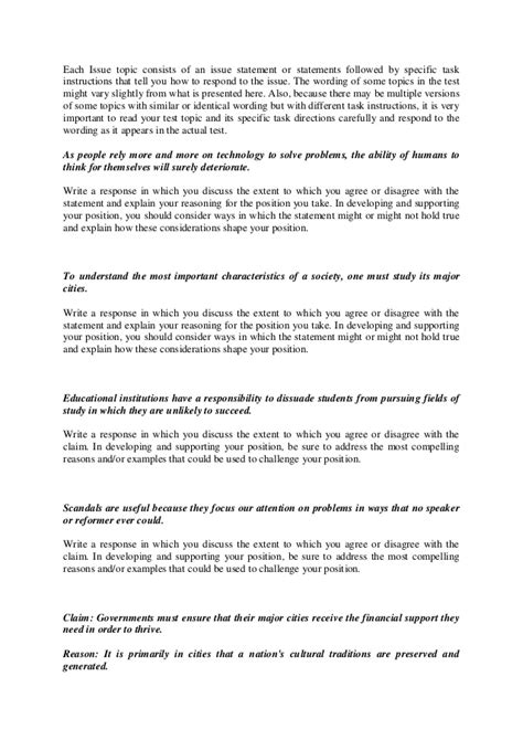 issue essay template gre gre analysis of an issue essay list 1