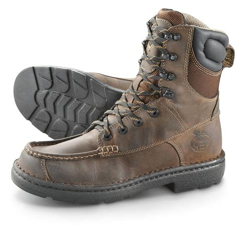 mens worker boots s boot 174 8 quot moc toe eagle lite work boots