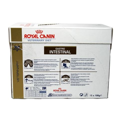 Royal Canin Vet Cat Gastro Intestinal Pouch 100 Gram royal canin gastro intestinal cat 12x 100g