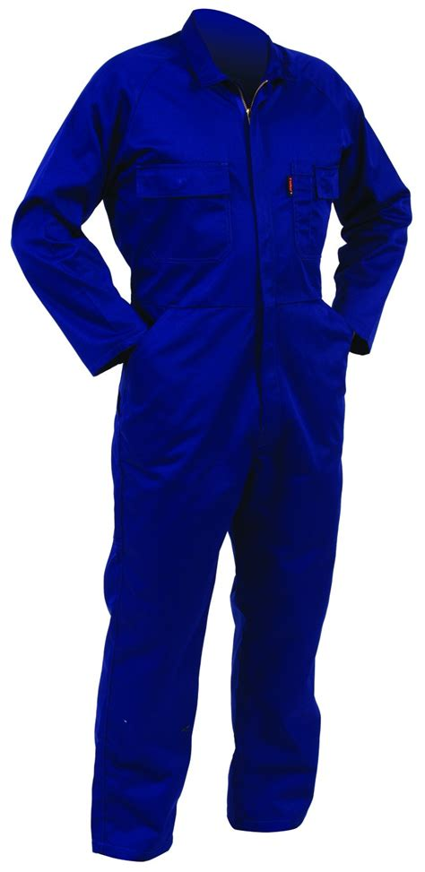Overall Blue Sku29304 workwear house nz ltd oa100 royal turu overalls polycotton zip quality safety boots