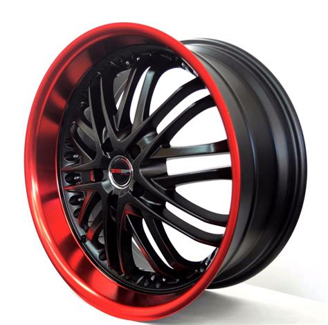 red jeep patriot black rims 4 gwg wheels 20 inch black red amaya 20x10 rims fits et42