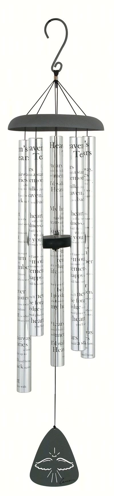 carson home accents heavens tears 44 inch sonnet windchime