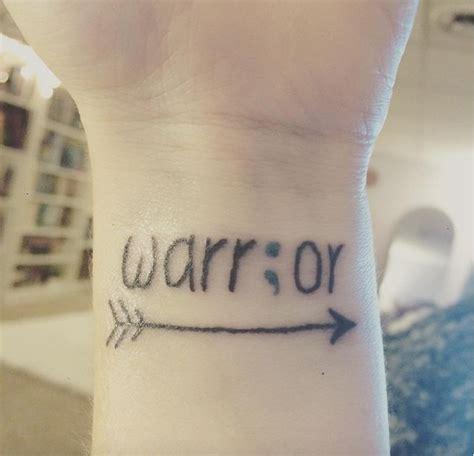 semicolon tattoo on left wrist tattoos for warrior semicolon tattoo www getattoos us