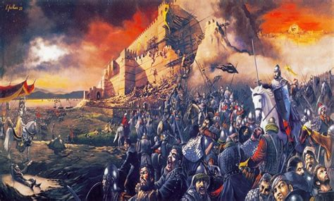 ottoman capture of constantinople facing islam blog the fall of constantinople 29 may 1453