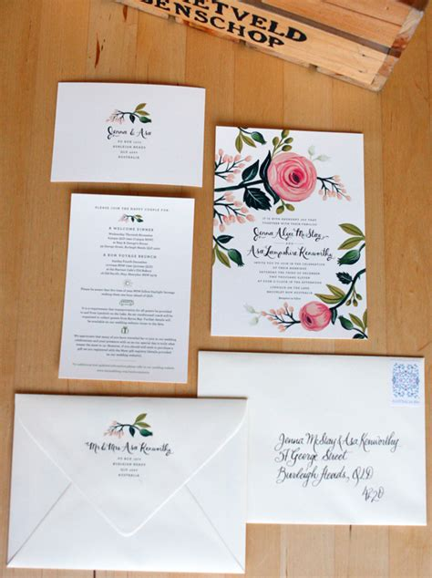 Rifle Paper Co Wedding Invitations s floral wedding invitations from rifle paper co