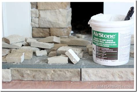 Can I Paint A Bathtub Airstone Fireplace Makeover On A Diy Budget Inmyownstyle