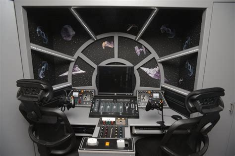 wars for your kid s room the interior turns sons bedroom into inside of wars millennium falcon and it s out of this world