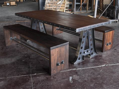 Antique Dining Room Table Styles A Frame Dining Table Vintage Industrial Furniture