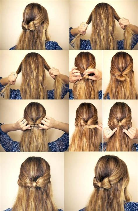 how to do half up half down hairstyles wikihow 13 half up half down hair tutorials