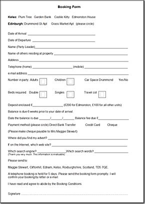 booking catering forms pictures to pin on pinterest