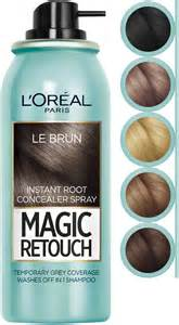 loreal hair color spray l oreal magic retouch instant root concealer