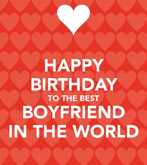 Happy Birthday Wishes To A Boyfriend Happy Birthday Greeting For Boyfriend