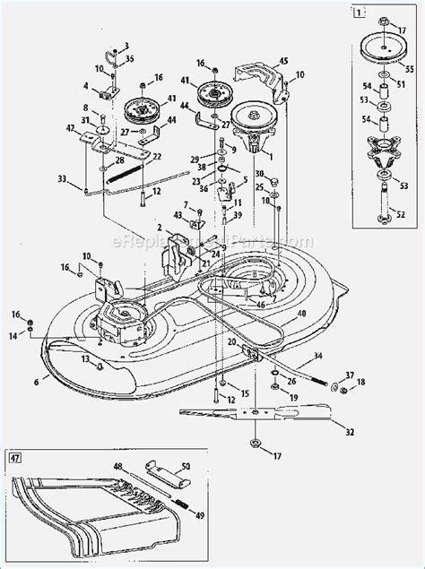 craftsman 42 inch deck diagram craftsman 42 inch mower deck parts list justmine co