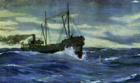 german u boat locations courage of the cargo ship captain who sank a u boat uk